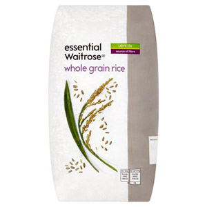 essential Waitrose Rice Whole Grain