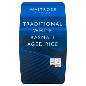 Waitrose Aromatic Basmati Rice