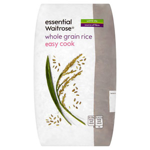 essential Waitrose Whole Grain Rice Easy Cook