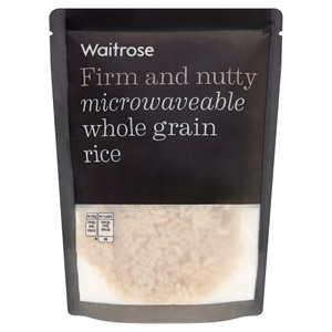 Waitrose Microwaveable Whole Grain Rice