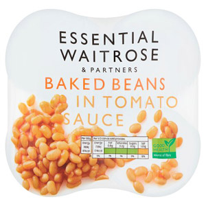 essential Waitrose Baked Beans in Tomato 4 Pack