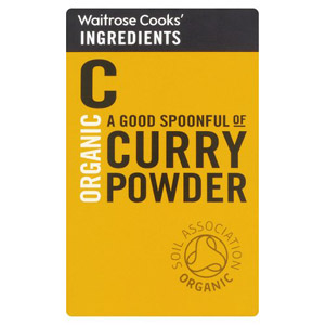 Waitrose Cooks Ingredients Organic Curry Powder
