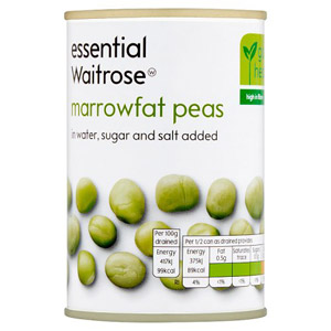 essential Waitrose Marrowfat Peas