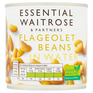 essential Waitrose Flagelot Beans