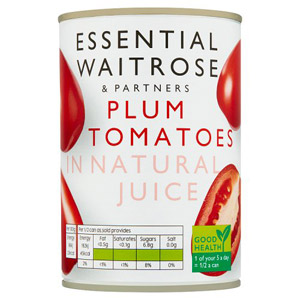 essential Waitrose Plum Tomatoes