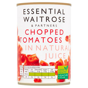 essential Waitrose Chopped Tomatoes