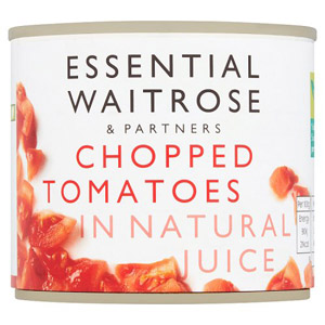 essential Waitrose Chopped Tomatoes Small Tin