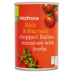 Waitrose Tomatoes Chopped with Herbs