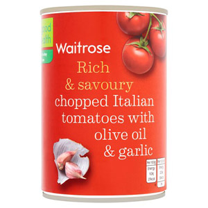 Waitrose Tomatoes with Olive Oil & Garlic