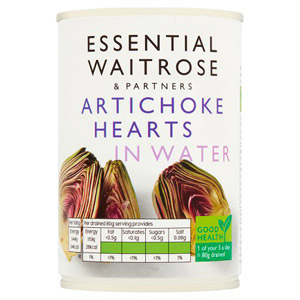 essential Waitrose Artichoke Hearts