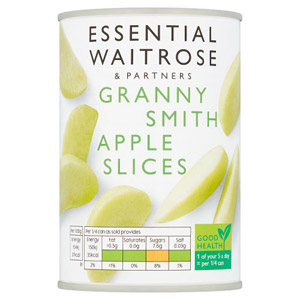 essential Waitrose Granny Smith Apple Slices
