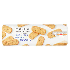essential Waitrose Biscuits Rich Tea Fingers