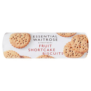 essential Waitrose Biscuits Fruit Shortcake