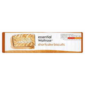 essential Waitrose Biscuits Shortcake