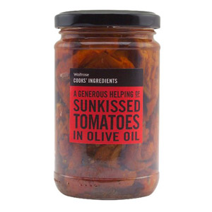 Waitrose Cooks Ingredients Sunkissed Tomatoes in Olive Oil
