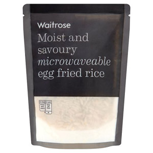 Waitrose Microwaveable Egg Fried Rice