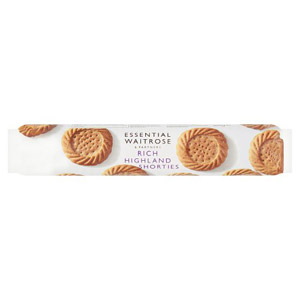 essential Waitrose Biscuits Rich Highland Shorties