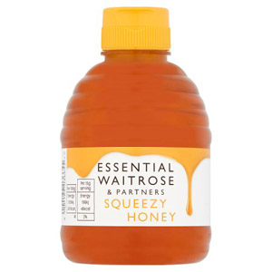 essential Waitrose Squeezy Honey