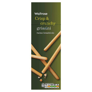 Waitrose Grissini Traditional Breadsticks