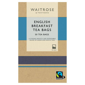 Waitrose English Breakfast 50 Tea Bags