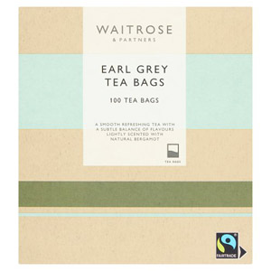 Waitrose Earl Grey Teabags 100s