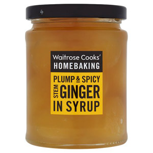 Waitrose Chinese Stem Ginger in Syrup