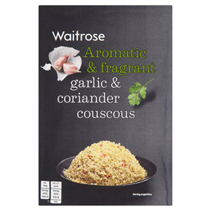 Waitrose Cous Cous Garlic and Coriander