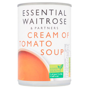 essential Waitrose Cream of Tomato Soup