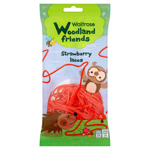 Waitrose Woodland Friends Strawberry Laces