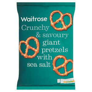 Waitrose Giant Pretzels with Sea Salt