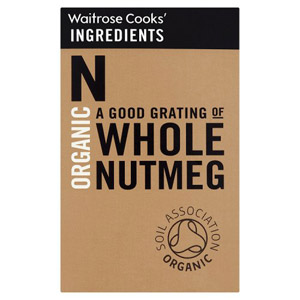 Waitrose Cooks Ingredients Organic Whole Nutmeg