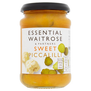 essential Waitrose Sweet Piccalilli