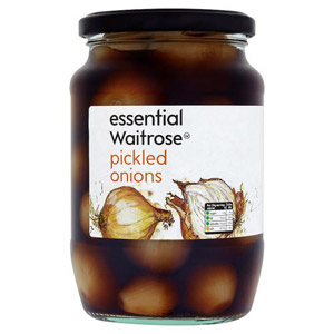 essential Waitrose Pickled Onions Large Jar