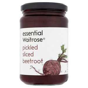 essential Waitrose Pickled & Sliced Beetroot