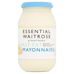 essential Waitrose Mayonnaise Half Fat