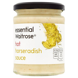 essential Waitrose Hot Horseradish Sauce