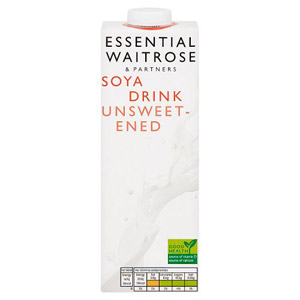 essential Waitrose Soya Milk Unsweetened