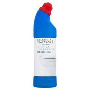 essential Waitrose Thick Bleach Original
