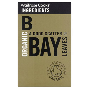 Waitrose Cooks Ingredients Organic Bay Leaves