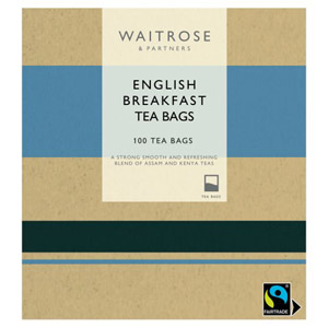 Waitrose English Breakfast 100 Tea Bags