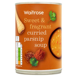 Waitrose Curried Parsnip Soup