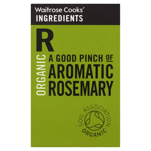 Waitrose Cooks Ingredients Organic Rosemary