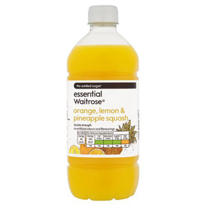 essential Waitrose No Added Sugar Orange Lemon & Pineapple