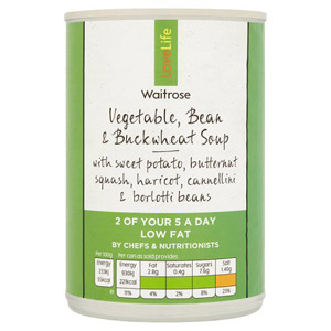 Waitrose LOVE life Vegetable Bean & Buckwheat Soup