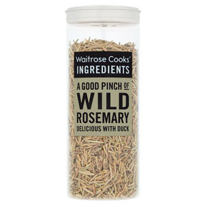 Waitrose Cooks Ingredients Organic Wild Rosemary