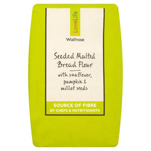 Waitrose LOVE life Seeded Malted Bread Flour