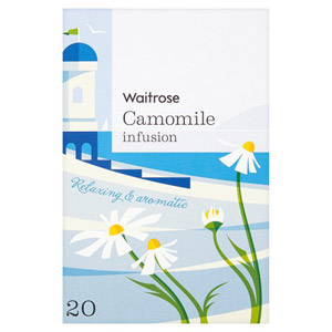 Waitrose LOVE life Camomile Infusion Tea 20 Pack