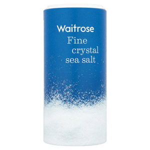 Waitrose Sea Salt Fine Crystals