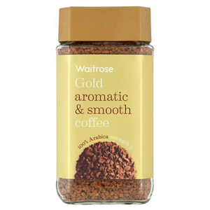 Waitrose Gold Freeze Dried Instant Coffee