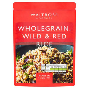 Waitrose & Partners Wholegrain Wild & Red Rice